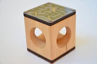 Бизикубик для детей развивающий ручной работы модель 6