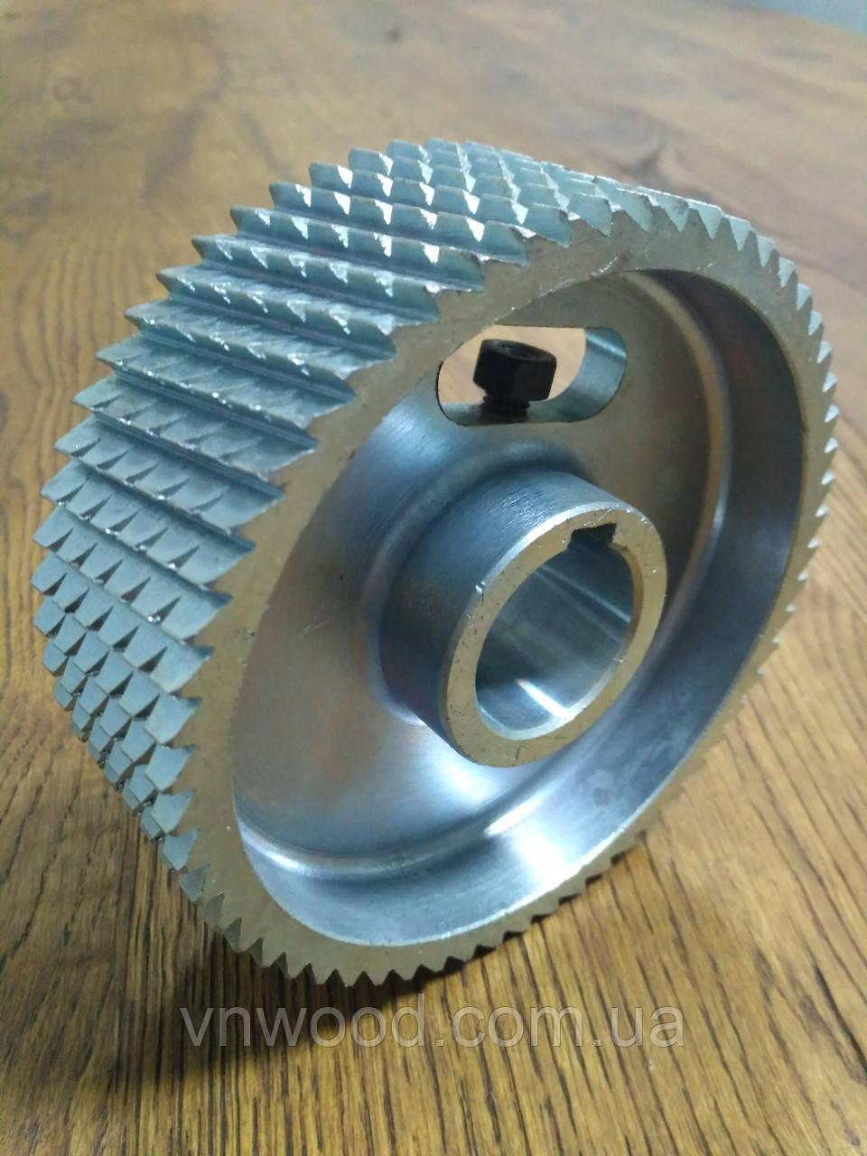 Подаючий ролик чотиристороннього верстата Φ140XΦ35x50 (метал)