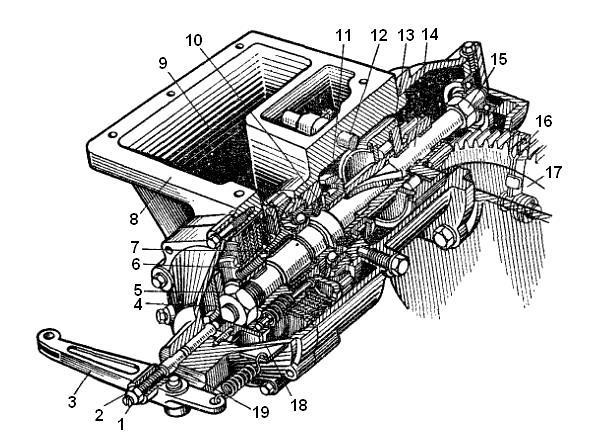 Редуктор пускового двигателя РПД Т 40, Д144.