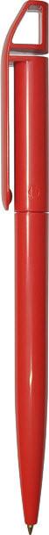 Ручка пластиковая F03-Violet красная
