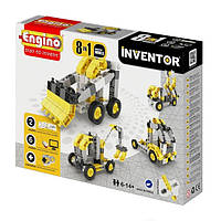Конструктор Engino серии Inventor 8 в 1 – Строительная техника 0834, фото 1