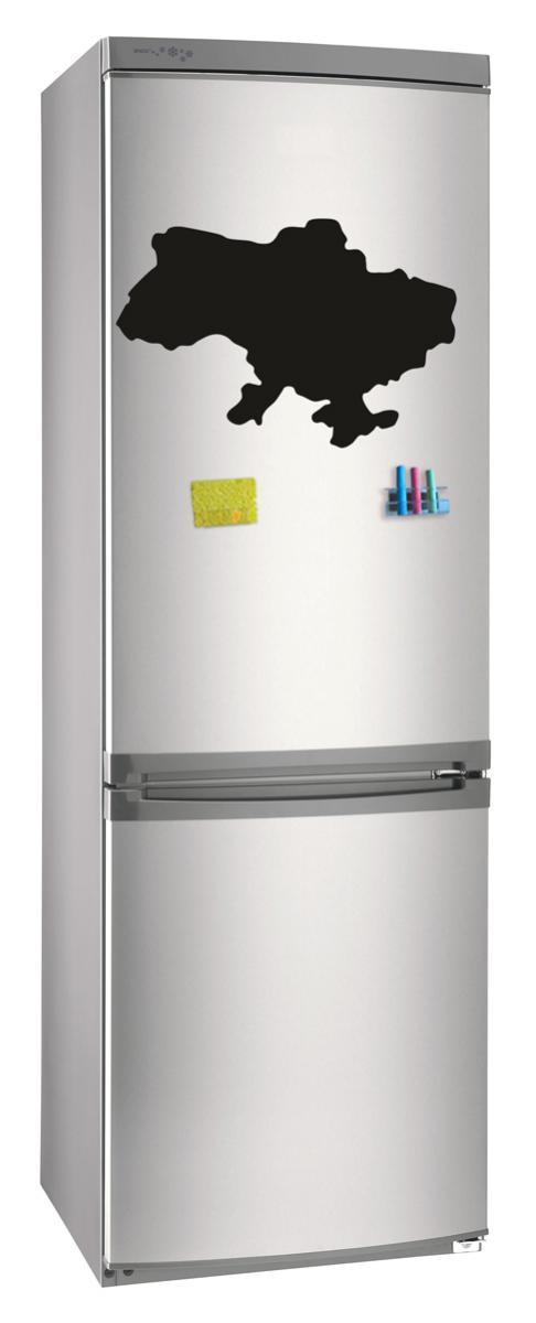 Магнитно-грифельная (меловая) доска на холодильник для записей и рисования мелом Украина размер 42х58 см