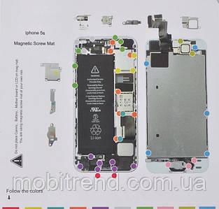 Магнитный мат MECHANIC для Iphone 5s