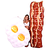 Надувной матрас Modarina  Бекон с яйцом 230 см Белый NW3010