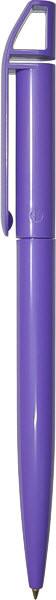 Ручка пластиковая F03-Violet фиолетовая