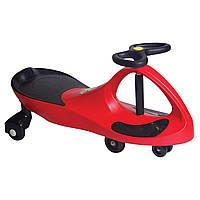Детская машинка каталка Bibicar Бибикар, PlasmaCar, Smart Car, Детская инерционная машинка - Красная