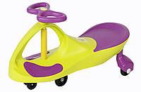 Детская машинка каталка Bibicar Бибикар, PlasmaCar, Smart Car, Детская инерционная машинка - Желтый