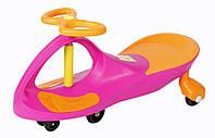 Детская машинка каталка Bibicar Бибикар, PlasmaCar, Smart Car, Детская инерционная машинка - Розовый