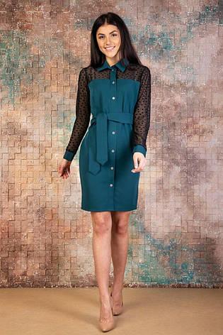 """Платье-рубашка """"Эмика"""", фото 2"""