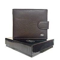 Мужской кожаный кошелек dr. Bond коричневый, фото 1