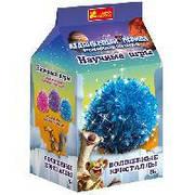 """Набір для дослідів """"Чарівні кристали. Синій. Льодовиковий період."""" в кор. 20*11*11см, ТМ Ранок, Укра"""