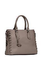Модная женская кожаная итальянская сумка в 2х цветах L-HF2141, фото 1
