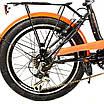 Электровелосипед. SMART20-XF08/900 Люкс 350W/36V (литиевый аккумулятор 36V), фото 7