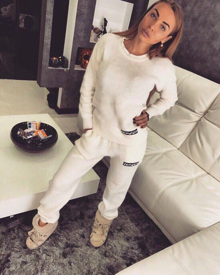 женский вязаный костюм тендер 405 продажа цена в харькове