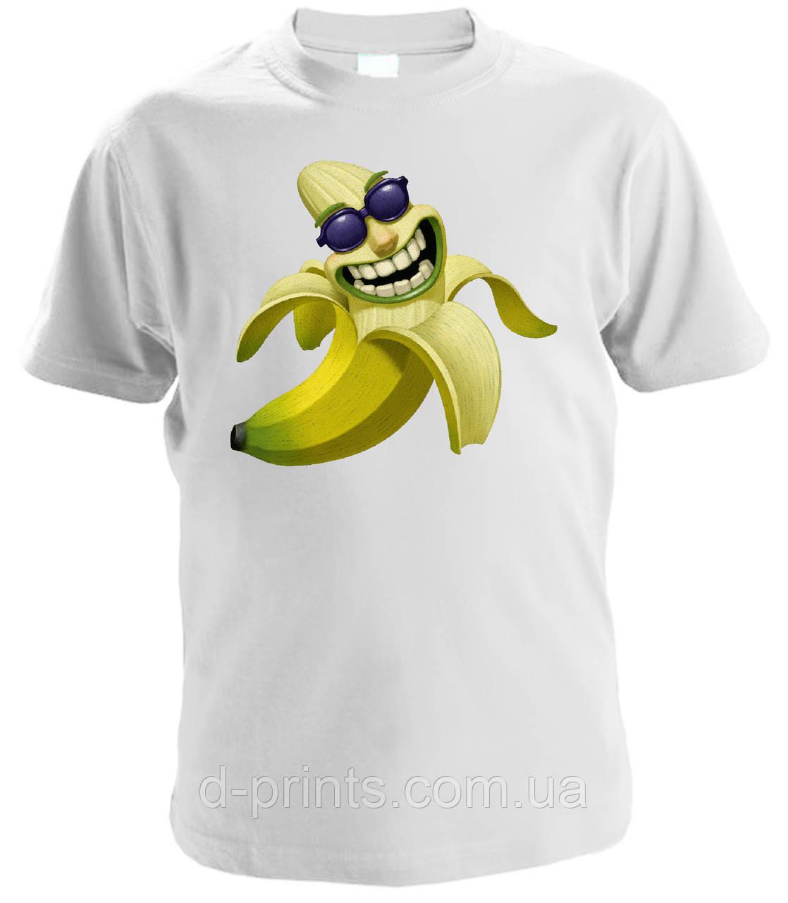 """Футболка детская с рисунком """"Банан"""""""