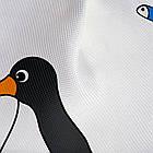 Тканевая штора для ванной комнаты Tatkraft 180 х 180 см Пингвины 18648, КОД: 166753, фото 3