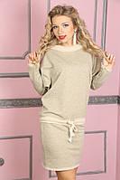 Теплое женское платье с люрексом 887, фото 1