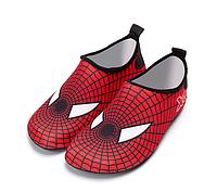 Детские тапочки  Spider для плавания, носки, чешки (аквашузы, коралки)