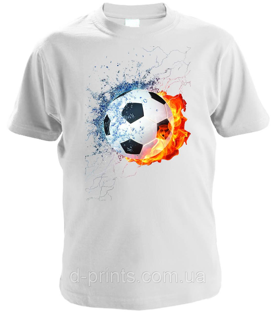 """Футболка детская с рисунком """"Мяч"""""""