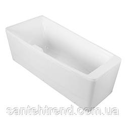 Ванна асимметричная Volle без гидромассажа, 1700*750*630мм, левая, акриловая