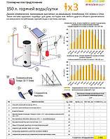 Стандартные предложения по солнечному водонагреву на плоских коллекторах