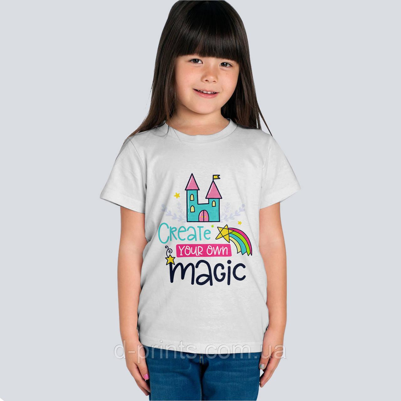 """Футболка детская с рисунком """"Магия"""""""
