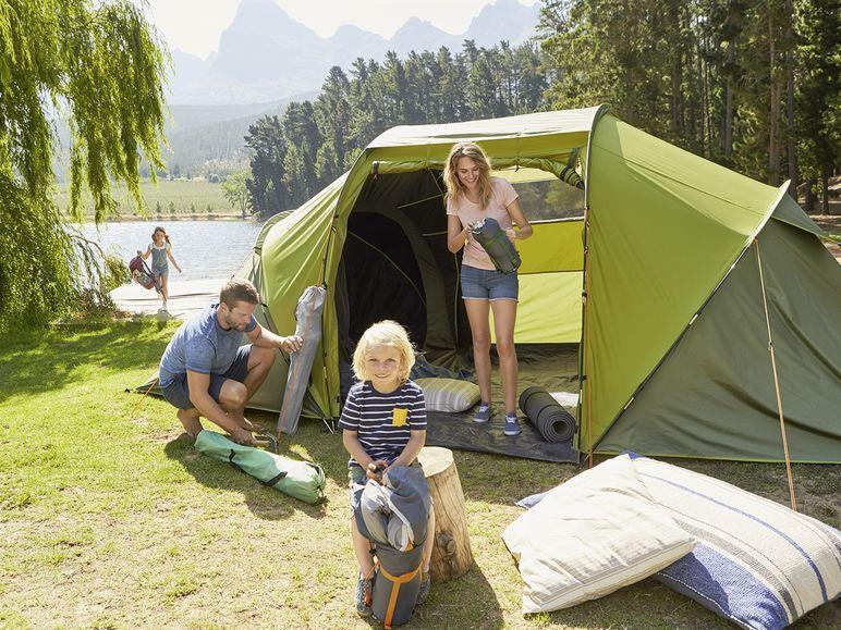 Четырехместная палатка CRIVIT