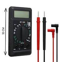 Мультиметр DT 182, Мультиметр тестер вольтметр цифровой, Универсальный измерительный прибор, Измеритель