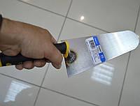 590 Кельма из нержавеющей стали 160 мм с резиновой ручкой Hassan