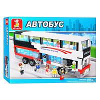 """Конструктор """"Автобус"""" Sluban M38-B 0335, 741 деталь"""