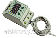 Терморегулятор DT 51-40 40A DIN-рейка цифровой Pulse