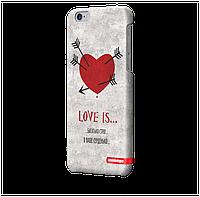 Чехол для iPhone 6 plus Любовь V1