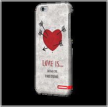 Чохол для iPhone 6 plus Любов V1