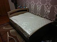 Кровать  из массива сосны на заказ в Харькове