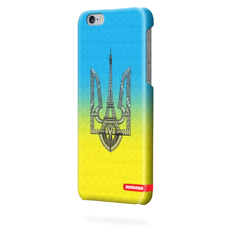 Чехол для iPhone 6 plus Герб Украины