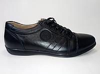 Мужские кожаные туфли на шнурках ТМ Kangfu, фото 1