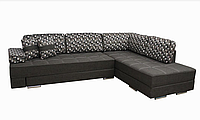 Угловой диван Garnitur.plus Палермо грей 295 см DP-369, КОД: 181550