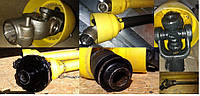 Карданный вал приводной на сельхозтехнику 6х6, 6х8, 21 шлиц, вал на 30-35 мм, шестигранник