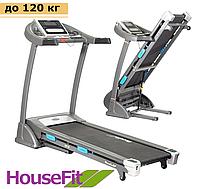 Беговая дорожка электрическая HT 9166E для дома, до 120 кг