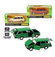 Машина ВАЗ 2104 Автопром, четверка металлическая, открываются двери, капот, багажник, цвет