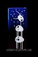 "Дизайн-радиатор ""Овечки-акробаты""(синие), фото 1"