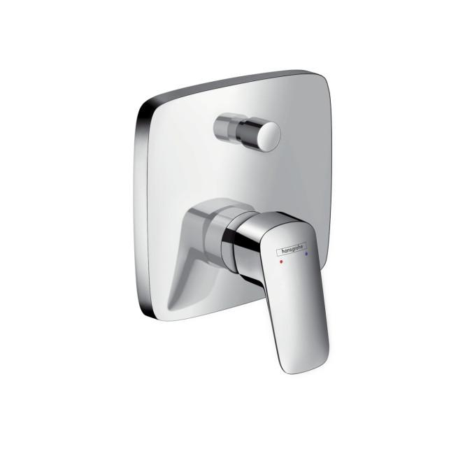 Hansgrohe Logis Смеситель для ванны, однорычажный, скрытый монтаж