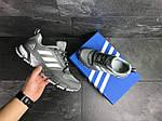 Мужские кроссовки Adidas Fast Marathon 2.0 (серые) , фото 5