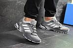 Мужские кроссовки Adidas Fast Marathon 2.0 (серые) , фото 6