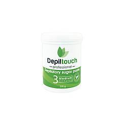 Сахарная паста для депиляции средняя Depiltouch Professional 330 г 87704, КОД: 302936