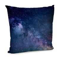 Подушка бархатная 45х45 Universe inside Космос (45BP_UNI007)