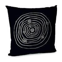 Подушка бархатная 45х45 Universe inside Планетная система (45BP_UNI021)
