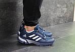 Чоловічі кросівки Adidas Fast Marathon 2.0 (синьо-білі), фото 3