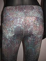 Женские леггинсы с принтом (8826 tr), фото 2