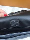 Молодіжна чоловіча сумка месенджер Louis Vuitton чорна Якість сумка на плече Брендовий Луї Віттон репліка, фото 8